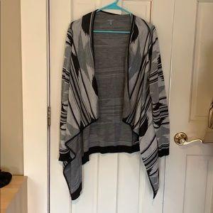 Grey & Black Charlotte Russe Sweater Size XL